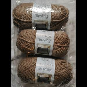 NWT Bernat Taupe Roving Yarn [Bulky 5] 3/$24